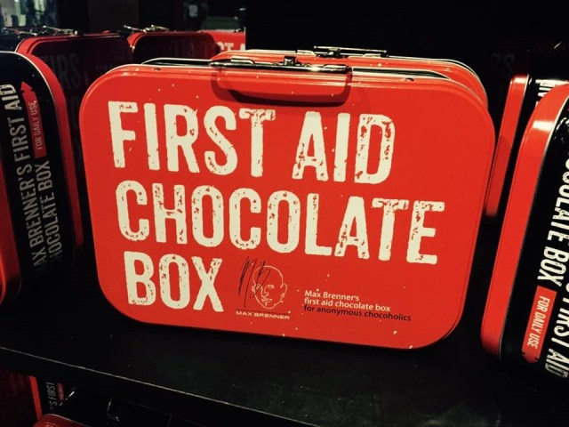 First Aid Chocolate Box, Max Brenner, Best Dessert Bars In New York