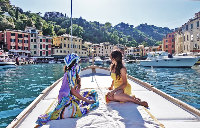 Christine Philip, View of Portofino Harbour
