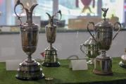 Arnie's majors trophies