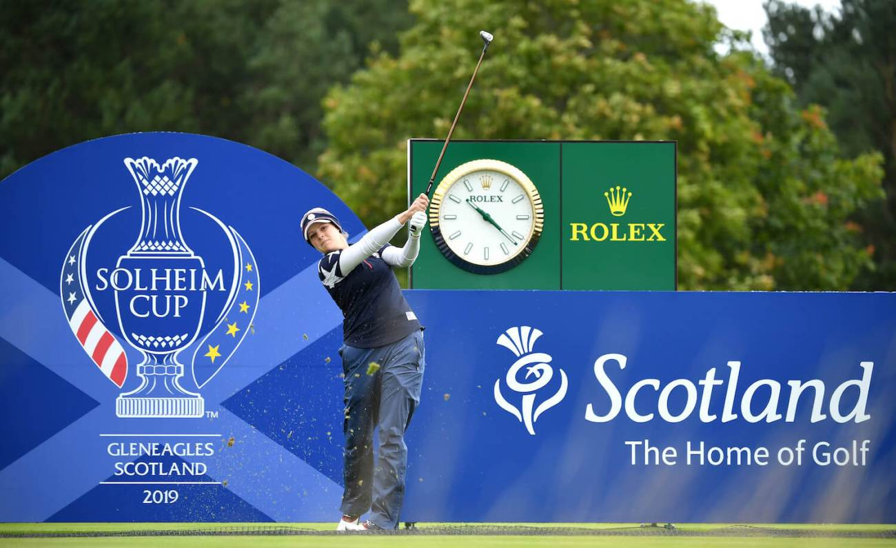 Ally McDonald Part Of A Record In Her First Solheim Cup