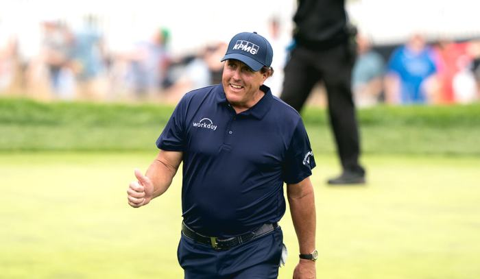 Phil Mickelson turned heads with his choice to play in Saudi Arabia.
