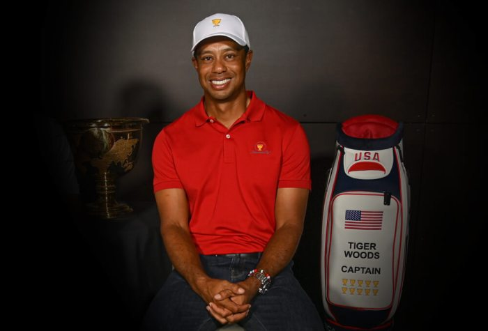 U.S. Presidents Cup captain Tiger Woods