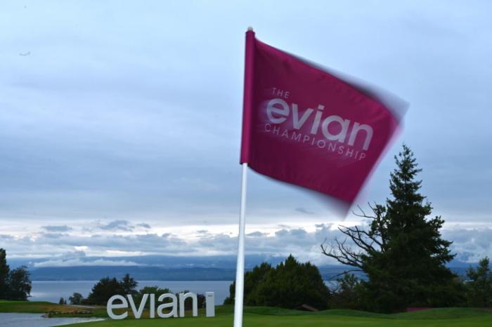 Evian Championship flag