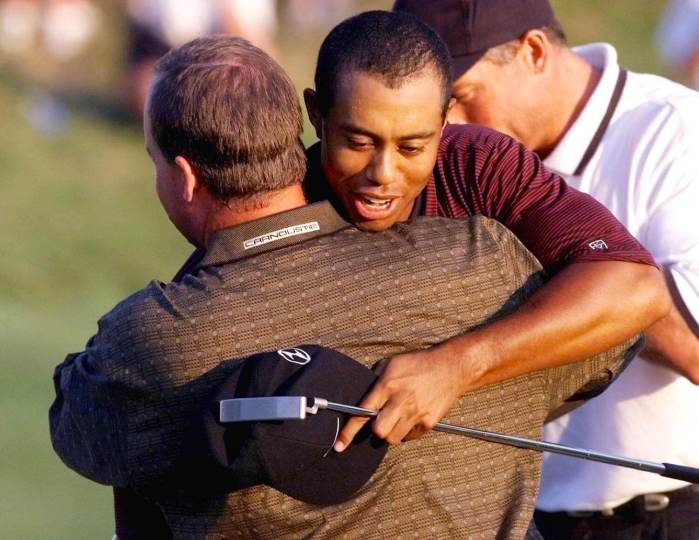 Tiger Woods, Bob May