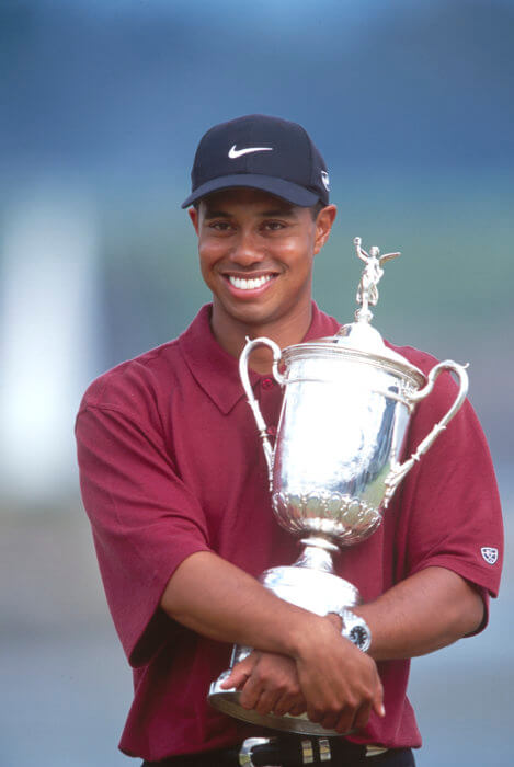 Tiger Woods, 2000 U.S. Open