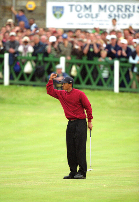 Tiger Woods, 2000 Open Championship