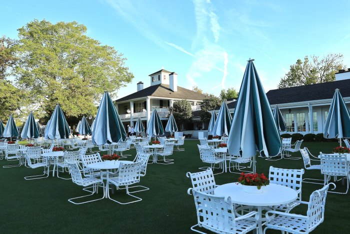 Augusta National Dining area