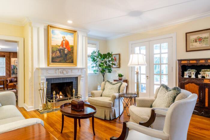 Dornoch Cottage living room