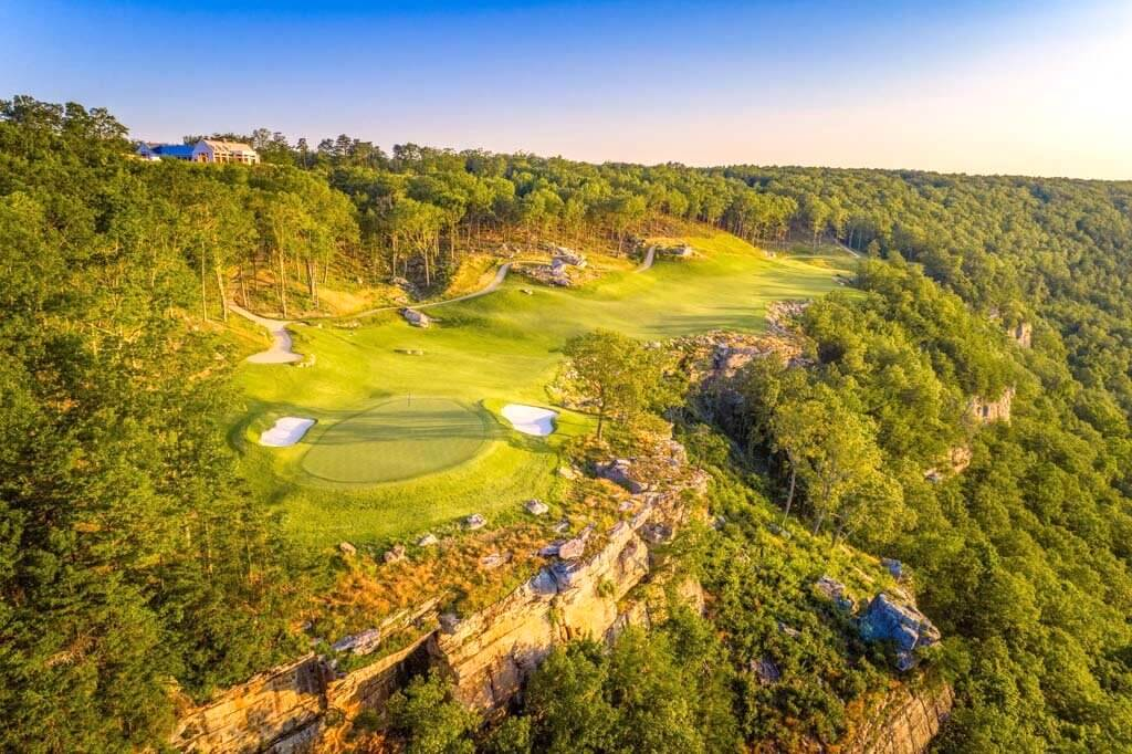 The Best Mountaintop Course in America?