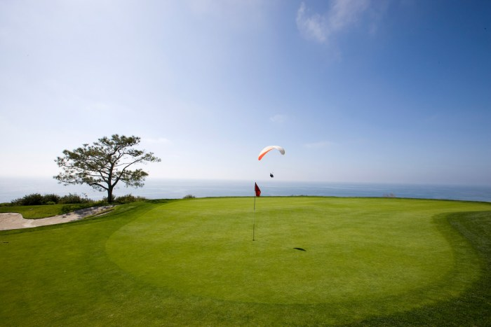 Torrey Pines South fourth hole