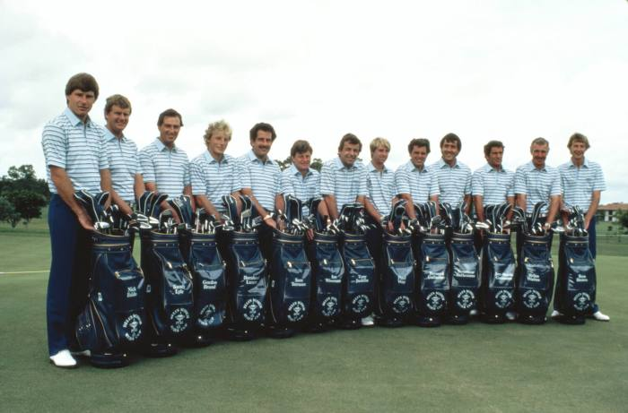 1983 European Ryder Cup team