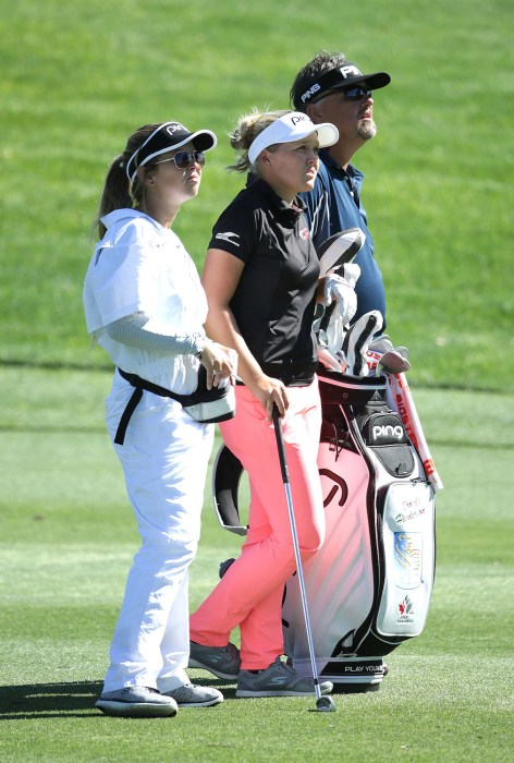 Caddie Brittany, Brooke and Dave Henderson