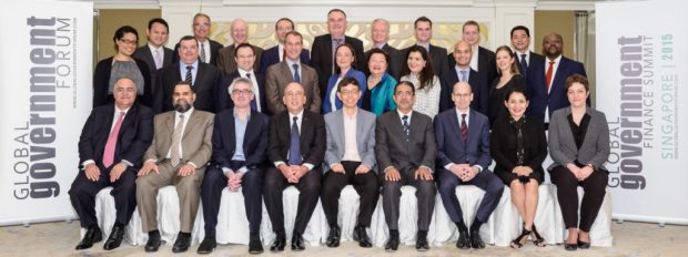 Heads of Financial Ministries, from 14 countires, meet at the Global Government Finance Summit