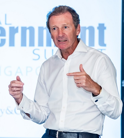 Former UK Cabinet Secretary, Lord O'Donnell, speaking at GGF's Global Government Summit