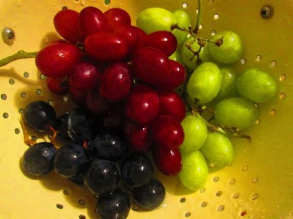 Grapes  Photo by Bless Mercado