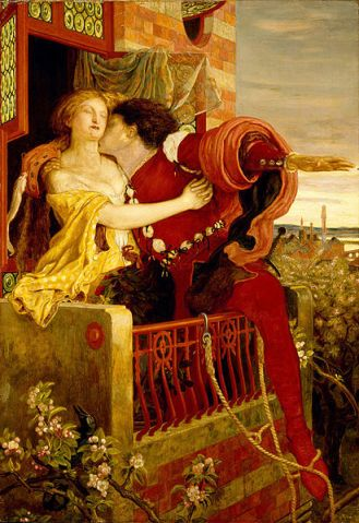 Romeo & Juliet (1870) by Ford Madox Brown (1821–1893)