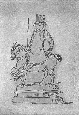 William Makepeace Thackeray _self caricature__Project_Gutenberg_eText_19222