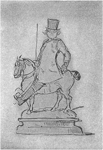 William Makepeace Thackeray _self caricature__Project_Gutenberg_eText_19222