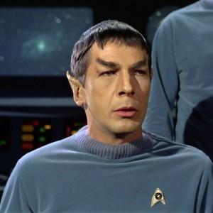 Spock Pilot Star Trek 1964
