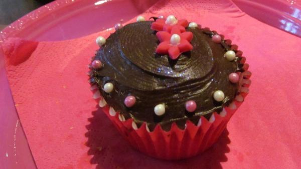 Chocolate cupcake, photo by PH Morton