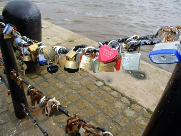 Love Locks, photo by JMorton