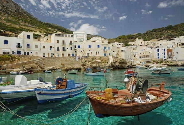 Cala Dogana, Levanzo, Sicily on GlablaGrasshopper.com