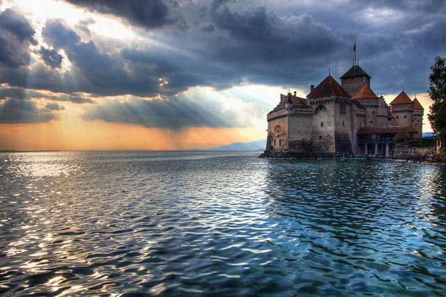 Château de Chillon, Switzerland on GlobalGrasshopper.com