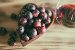 Resveratrol is a healthy phytochemical found in wine.