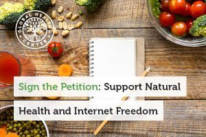Sing a petition to support internet freedom.
