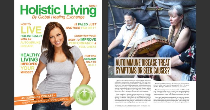 Holistic Living Magazine - Autoimmune Disease