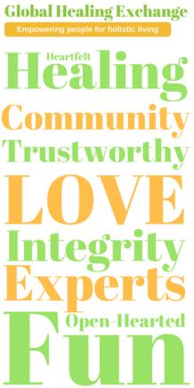 Global Healing Exchange Values