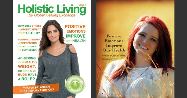 Holistic Living Magazine 7 - Releasing Emotions