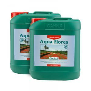 Canna Aqua Flores ( flower ) 5ltr's Set a+b