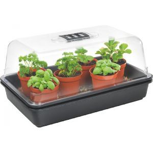 stewarts medium heated propagator 38x24x21.5cm