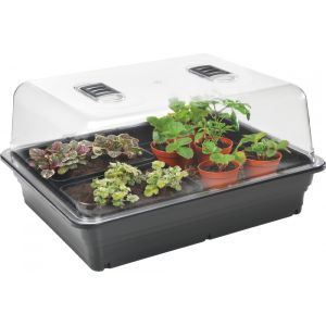 stewards large heated propagator 52x41.5x28cm