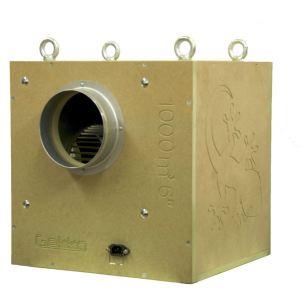 """Gekko Acoustic Box Fan 250mm (8"""") 2500m3/HR"""
