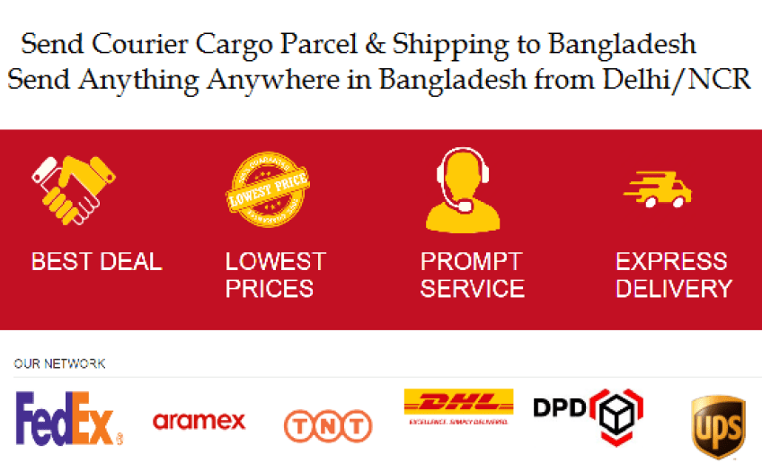 internaitonal courier to bangladesh from delhi gurgaon noida faridabad ghaziabad