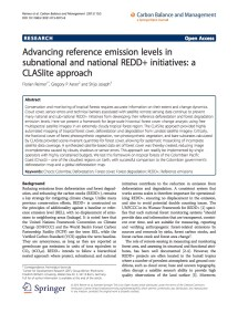 Carbon Pools And Multiple Benefits Of Mangroves In Central Africa: Assessment for REDD+