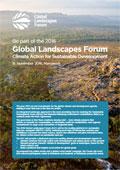 2016 Global Landscapes Forum Concept Note
