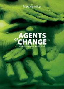 Agents of Change – Finance in Motion Report Highlights Company Impact Around the World