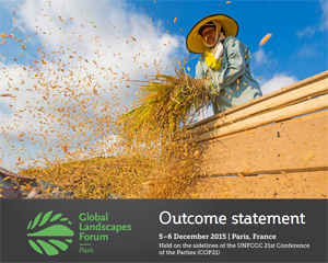 Outcome Statement of the 2015 Global Landscapes Forum