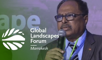 Minister Hassan Hilal: Tackling the resource-conflict nexus through restoration – GLF 2016 Marrakesh