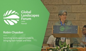 Robin Chazdon – Enriching landscapes and lives by bringing back forests and trees