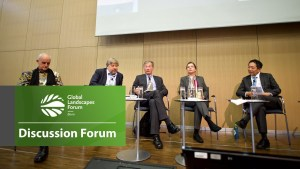 Discussion Forum 14: From forests to markets, making supply chains greener through PPPs