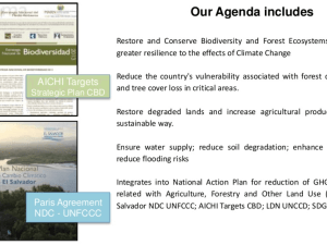 National Landscape and Ecosystem Restoration Program