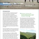 Reshaping the terrain: Landscape restoration in Tanzania