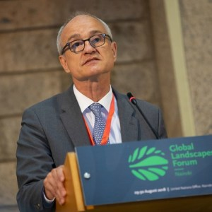 Give local communities stewardship, not pressure, says One World – No Hunger leader Dr. Schmitz