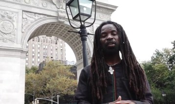 An impromptu concert from Rocky Dawuni in New York City