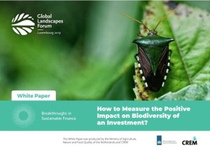 How to Measure the Positive Impact on Biodiversity of an Investment? – White paper
