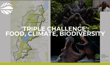 The food, climate and biodiversity 'triple challenge' and One Health landscapes